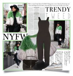 """""""NYFW Day 1: Lovely Pepa"""" by inyene105 ❤ liked on Polyvore featuring Warehouse, Yves Saint Laurent, Zara, ASOS, women's clothing, women, female, woman, misses and juniors"""