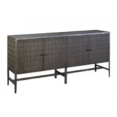 Industrial metal industrial and drawers on pinterest - Buffet industriel metal ...