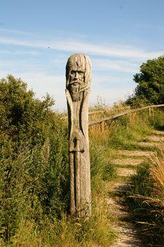 Kap Arkona, Rügen. Danish Flag, Baltic Sea, Germany Travel, Mythology, Vikings, Garden Sculpture, Fairy Tales, Street Art, Culture
