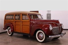 Jake's Motorcars is a pre-owned car dealer in San Diego, California offering pre-owned vehicles, used cars, Pre-owned cars Service and Parts in San Diego, California. Vintage Trucks, Old Trucks, Classic Motors, Classic Cars, Car Station, Plymouth Valiant, Woody Wagon, Panel Truck, Pedal Cars