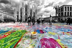 Ancora colori con lo scatto di Stefano Bertelli #milanodavedere Milano da Vedere