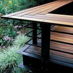 backyard deck ideas deck (wonderful diy backyard and deck design) Deck Railing Design, Deck Railings, Deck Balustrade Ideas, Balcony Railing, Handrails Outdoor, Horizontal Deck Railing, Decking Fence, Patio Stairs, Deck Bar