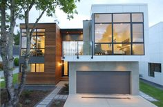 Great use of wood, concrete and glass   | Usual House