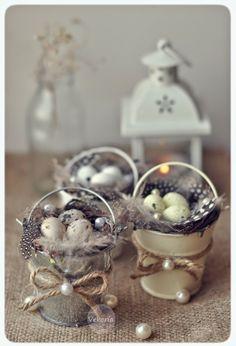 Easter eggs, quail eggs, Easter decor,