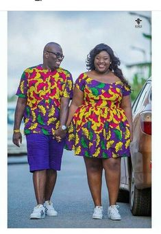 The most classic collection of beautiful traditional and ankara styles and designs for couples. These ankara styles collections are meant for beautiful African ankara couples Couples African Outfits, Couple Outfits, African Attire, African Wear, African Women, African Fashion Designers, African Inspired Fashion, African Print Fashion, Africa Fashion