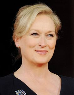 Meryl Streep. The queen of the screen. I LOVE her! She is SO incredible and SO humble and generous. The talent is just inspiring.
