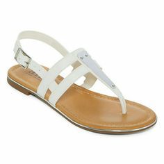 36fcd07cc6527 A.N.A Sweeny Womens Flat Sandals T Strap Shoes