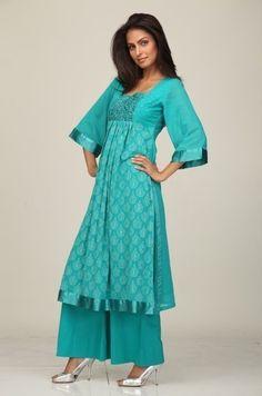 Shalwar Kameez Design 2011: Designer Indian Salwar Kameez With Embroidery