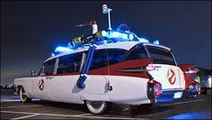 The Ghostbusters Cadillac - Ecto-1