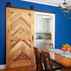 How to Build a Sliding Barn Door & Lucas House \