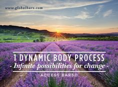 1 Dynamic Body Process - Infinite possibilities for change - #accessbars http://www.accessconsciousness.com