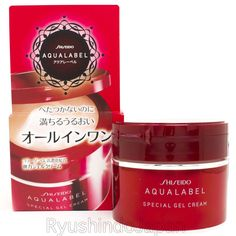 Shiseido AQUALABEL Special Gel Cream 90g with Collagen Hyaluronic Acid #Shiseido