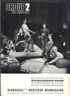 hindsgaul mannequin/ broshure 1968 by maneken75, via Flickr