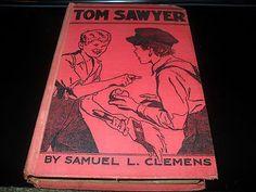 VINTAGE TOM SAWYER BY: SAMUEL CLEMENS HARDCOVER GOLDSMITH PUBLISHING C1953