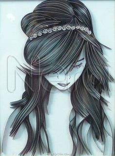 © Nera - Quilled portraits 3 (Searched by Châu Khang)