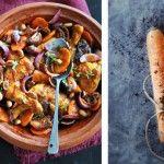 wortelsoep met koriander-yoghurtdip - deliciousmagazine.nl