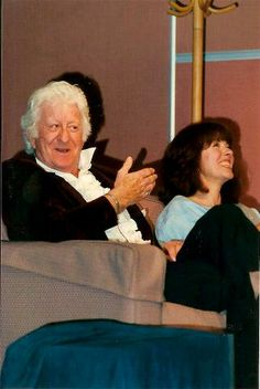 Convention 1979 New Doctor Who, Classic Doctor Who, Sarah Jane Smith, Jon Pertwee, Blake Lively Style, Watch Doctor, Sci Fi Series, Big Crush, Hello Sweetie