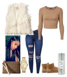 A fashion look from December 2017 featuring Hollister Co. vests, UGG Australia ankle booties and MICHAEL Michael Kors clutches. Browse and shop related looks. Swag Outfits For Girls, Cute Swag Outfits, Teenage Girl Outfits, Cute Comfy Outfits, Teenager Outfits, Winter Fashion Outfits, Chic Outfits, Dope Outfits, Winter Swag Outfits