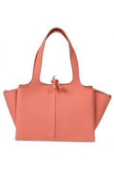 Celine Tri-Fold Shoulder Bag in Peach  ea780d1d4b12b
