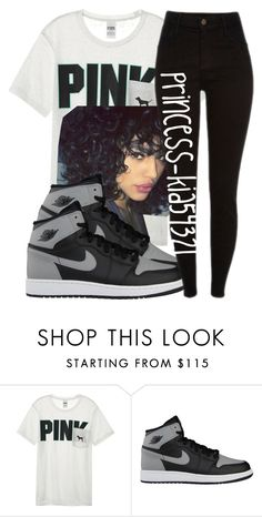 """""""*"""" by princess-kia54321 ❤ liked on Polyvore featuring Victoria's Secret and NIKE"""
