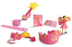 Pinkalicious Toys are now available at Burger King! Collect all 6!
