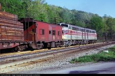 RailPictures.Net Photo: EL 7134 Erie Lackawanna EMD F7(A) at Lanesboro, Pennsylvania by Donald Haskel (Collection)