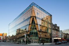 2-22 Office Building is a Glass-Encased High-Performance Landm...
