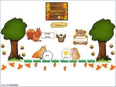 ημερολόγιο για το νηπιαγωγείο με θέμα τα ζώα του δάοσυς Classroom Organization, Speech Therapy, Winnie The Pooh, Back To School, Preschool, Projects To Try, Calendar, Alpha Gamma, Teaching