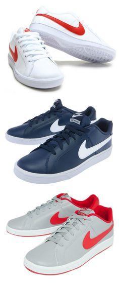 Nike court royale é um interessante tênis casual, perfeito para utilizar no dia a dia. Versões masculinas e femininas >>> www.ofertasnodia.com <<<