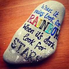 Top Painted Rock Art Ideas With Quotes You Can Do(73)