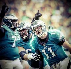 The Rookie making History already! What a W!!!  #FlyEaglesFly #EaglesNation…