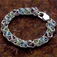 "from ""Chain Maille Jewelry Workshop"" by Karen Karon"