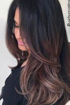 Adorable Dark Chocolate Ombre Tones 4