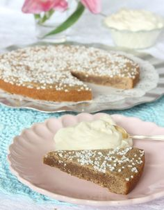 Cookie Desserts, No Bake Desserts, Delicious Desserts, Yummy Food, Swedish Recipes, Sweet Recipes, All You Need Is, Cinnamon Bun Cake, Muffins