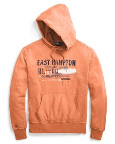 East Hampton Fleece Hoodie - Polo Ralph Lauren Sweatshirts - RalphLauren.com