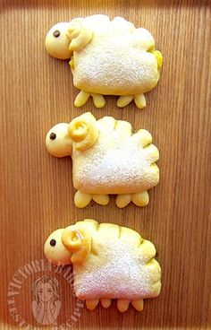 little sheep chocolate chips bun 小绵羊巧克力豆面包 ੯ू❛ัू ໒⑅꒱ – Victoria Bakes