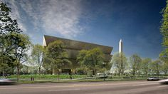 The corona in the design for the new African American Museum expresses faith, hope and resiliency. #seriouslyamazing