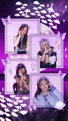 Lisa Blackpink Wallpaper, Purple Wallpaper, Aesthetic Pastel Wallpaper, Black Pink Background, Blank Pink, Blackpink Poster, Posters, Cartoon Girl Images, Rose Pictures