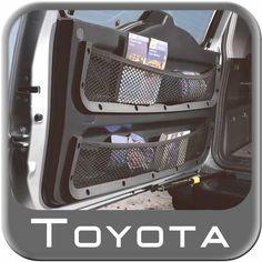 2007-2014 Toyota FJ Cruiser Cargo Net Rear Door Storage Net Dual Pocket Design Includes One Net Sold Individually Genuine Toyota #PT912-35070