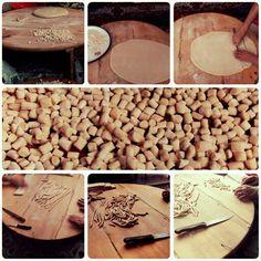 "Çerezi makarnası - Traditional Turkish food called ""Çerezi"" from Ardahan / Posof ( Eastern Anatolia )"