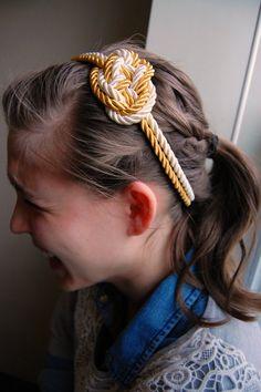 nautical knot headband
