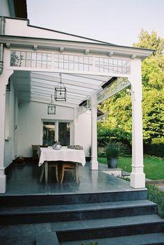 Back Gardens, Outdoor Gardens, Small Conservatory, Diy Pergola, Outdoor Living, Villa, Spa, New Homes, Backyard