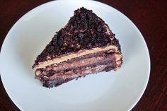 Yummy, messy, Brooklyn blackout cake