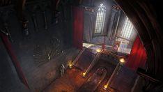 throne artstation king arthur concept