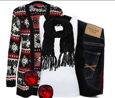 red, black