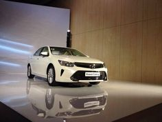 Toyota Camry facelift at the Moscow auto show