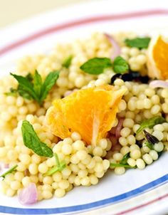 Israeli Salad Recipe with Pearl Couscous