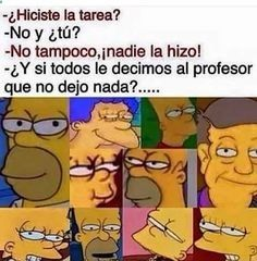 ★★★★★ Imágenes de memes en español: Cuando nadie hizo la tarea I➨ …