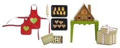 The Smaland 2015 Gingerbread Doll House Set by Lundby has real working lights! The plates hold Lucia buns and gingerbread biscuits and there is a box full of chocolates, see for yourself. Dollhouse Accessories, Doll Accessories, Modern Dollhouse, Holiday Festival, Dollhouse Furniture, Educational Toys, Presents, Christmas Ornaments, Christmas Ideas