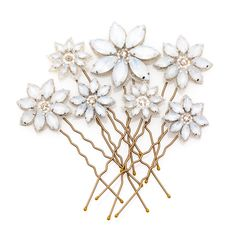 Opal daisy pins | Emmy London